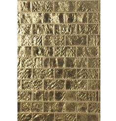 "Gilt Tile in 4"" x 8"" by Michael Smith | Ann Sacks"