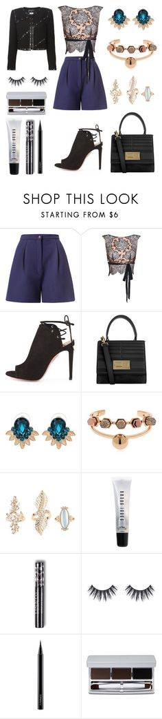 """""""What a Difference a Day Made"""" by massielcristina on Polyvore featuring moda, Marina Hoermanseder, Agent Provocateur, Aquazzura, Elie Saab, WithChic, Giuliana Mancinelli, Charlotte Russe, Bobbi Brown Cosmetics y MAC Cosmetics"""