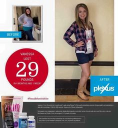 Plexus Before And After ~ Vanessa
