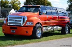 My absolute truck, 6 door Ford Dually. So need this on the road when rodeoing