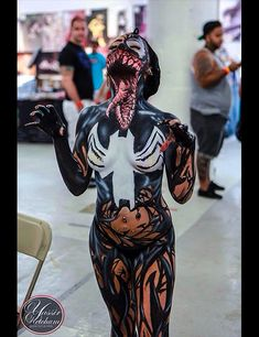 Fo real the best venom cosplay I've ever seen. (Spiderman)