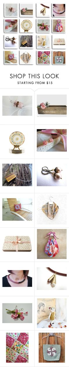 """""""Revisiting Treasuries"""" by inspiredbyten ❤ liked on Polyvore featuring Rustico and vintage"""