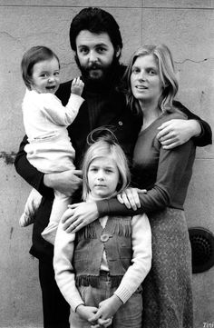 Paul, Linda, Heather, & baby Mary.  My guess...1970