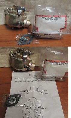 heavy equipment: New Ford Tractor Carburetor 8N9510c-Impaf Tractor Part BUY IT NOW ONLY: $95.0