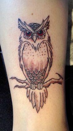 New owl Tattoo!