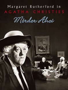 Margaret Rutherford in the Miss Marple series Hollywood Divas, Old Hollywood, Agatha Christie, Love Movie, Movie Tv, Pennywise Poster, Mrs Marple, Thriller, Margaret Rutherford