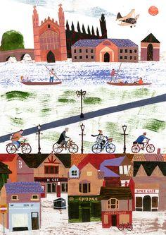 Sophie Wainwright (illustrator and graduate from the Cambridge School of Art 2010), Cambridge.  Illustration.