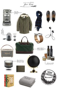 45 Splurgey Christmas Gift Ideas, for Everyone on Your List expensive-gifts-for-him Diy Gifts For Dad, Gifts For Brother, Gifts For Him, Gifts For Women, Birthday Gift For Him, Birthday Gifts For Boyfriend, Boyfriend Gifts, Expensive Gifts For Men, Luxury Gifts For Men