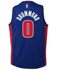 3d86d71f1 Nike Andre Drummond Detroit Pistons Icon Swingman Jersey