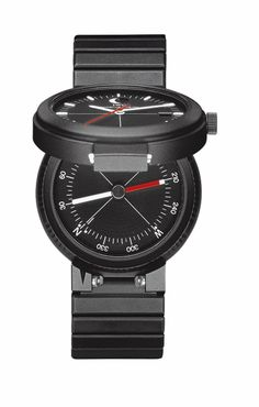 Watchmaking legends – the first watch with an integrated compass function, developed in 1978 by Prof. Ferdinand Alexander Porsche by Porsche Design