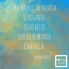 Indo aos sonhos... Vamos de Bruno Fontes.