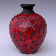 kitchen decoration – Home Decorating Ideas Kitchen and room Designs Painted Glass Bottles, Glass Bottle Crafts, Diy Bottle, Bottle Art, Glass Vase, Pottery Painting Designs, Glass Painting Designs, Pottery Designs, Raku Pottery