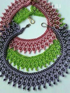Beading Projects, Beading Tutorials, Jewelry Patterns, Beading Patterns, Jewelry Making Beads, Beaded Jewelry, Native Beadwork, Beaded Crafts, Necklace Tutorial
