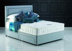 Hypnos Beds Pillow Comfort Wool Divan set from George Tannahill & Sons - Great Pirces online