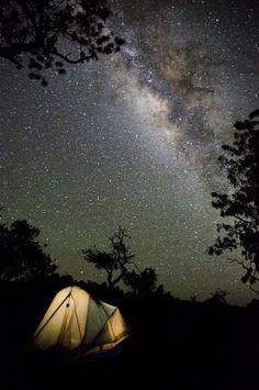 Camping at Hawai'i Volcanoes National Park by AnaGrant