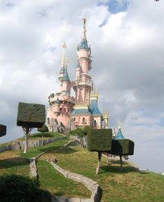 Castillo, Disneyland Paris, Francia...