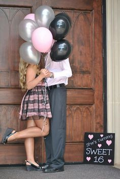 Sweet 16 pictures with my boy!!!