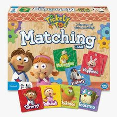 My Review Cafe Reviews Tickety Toc Matching!