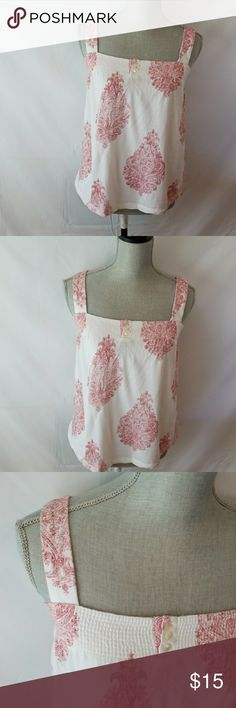 Timmy Hilfiger baby doll top Super cute never worn without tags white and red baby doll top. Thick straps with elastic at top. Comfy fit and in perfect condition Tommy Hilfiger Tops