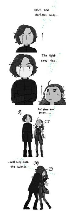 Reylo meme for the dayits cute