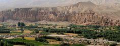 View of Bamiyan Valley.