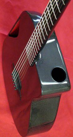Blackbird Super Om carbon fiber guitar.