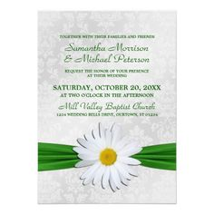 See MoreEmerald Shasta Daisy Wedding InvitationYes I can say you are on right site we just collected best shopping store that have