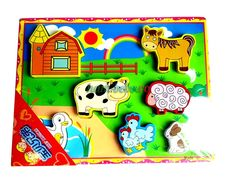 Puzzle lemn 3D Animale Ferma Puzzle, Snoopy, Character, Products, Puzzles, Riddles, Jigsaw Puzzles, Lettering, Gadget
