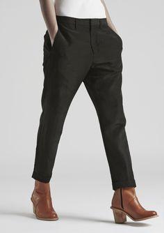 News Trouser - Black - Trousers & Jeans - Shop Woman - Hope STHLM