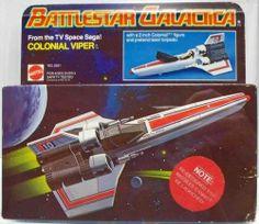 Battlestar Galactica vintage viper ship