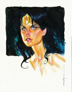 Brian Stelfreeze ( Wonder Woman ) *
