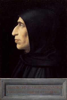 Portrait de Savonarole, par Fra Bartolomeo