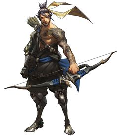 Hanzo from Overwatch