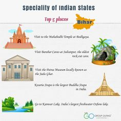 Top 5 #destinations you must visit while in #Bihar #GroupOuting #GoGroupOuting