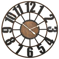 Old Station Wall Clock
