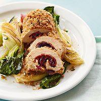 Cherry Chicken Spirals.  Love this simple, yet elegant meal!