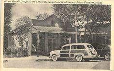 Krum Rexall drug store 1940