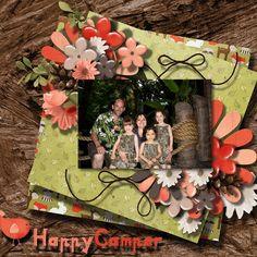 Kit by Dae Designs -  Happy Camper