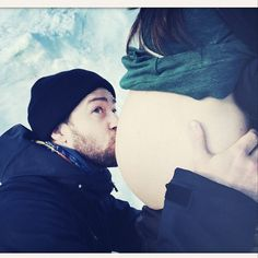Birthday Boy Justin Timberlake Confirms Wife Jessica Biel Is Expecting, Shares Cutest (and Biggest) Baby Bump Photo