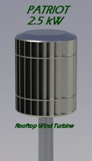The Patriot kW Vertical Axis Wind Turbine shown as a pole mounted unit. Excellent for creating your own wind farm! Home Wind Power, Casa Bunker, Alternative Energie, Wind Power Generator, Electrical Projects, Electrical Engineering, Power Energy, Sustainable Energy, Energy Technology