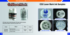 CO2 laser mark ink for metal,ceramic and glass