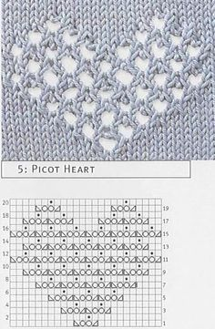 Crochet & knitting pattern Record of Knitting String rotating, weaving and stitching careers such as BC. Lace Knitting Patterns, Knitting Stiches, Knitting Charts, Crochet Stitches, Baby Knitting, Stitch Patterns, Knit Crochet, Doilies Crochet, Knit Lace