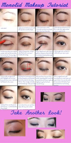 Had some requests in another thread, so here's my go-to Monolid Makeup Tutorial [MISC] [TUTORIAL]