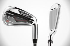 #TaylorMade #RSi 1 Irons #Golf as featured on http://gearluxe.com/gear/taylormade-rsi-1-irons/