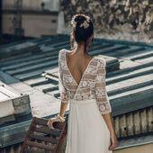 Inspirée par un road trip en Californie, la créatrice parisienne imagine cette saison des robes de mariée teintées de glamour hollywoodien, clin d'œil à l'âge d'or du cinéma US.