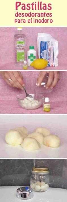 Pastillas desodorantes para el inodoro