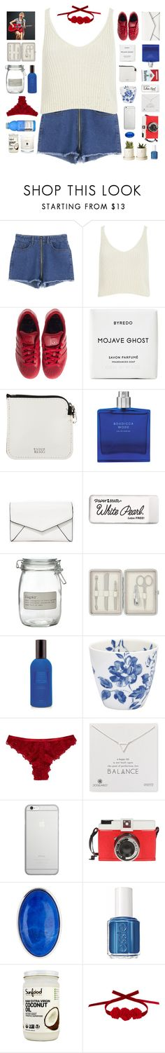 """""""☾ happy independence day!!!"""" by thundxrstorms ❤ liked on Polyvore featuring River Island, adidas, Byredo, Undercover, LULUS, Ferrari, Paper Mate, J by Jasper Conran, John Lewis and Czech & Speake"""