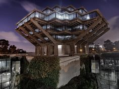 Image result for Geisel Library, San Diego, 1970