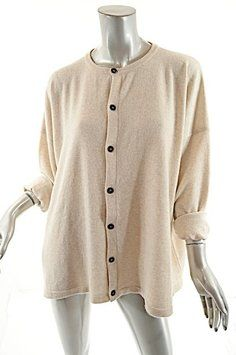 Oatmeal/gray/multi Tweed Charcoal Wool/cashmere Sweater - Great ...