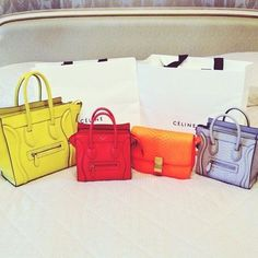 Celine Bag collection.  RIP to all other bags